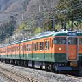上越線 普通列車 729M (115系3両)