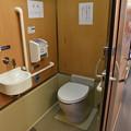 キハ20 1303 車内のトイレ