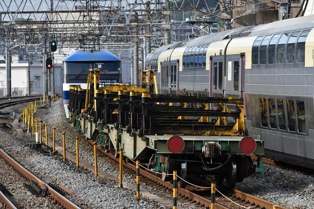レール輸送列車