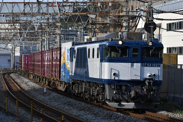 写真: 貨物列車 (EF641027)