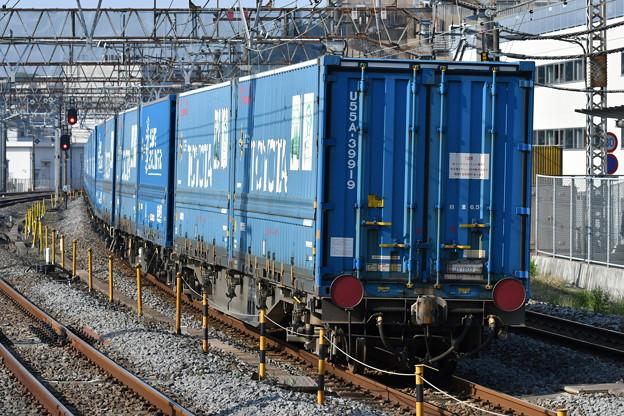写真: 貨物列車 (TOYOTAのコンテナ)
