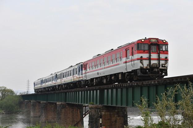 磐越西線普通列車 (キハ40+キハ47+キハ47+キハ48)