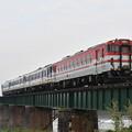 写真: 磐越西線普通列車 (キハ40+キハ47+キハ47+キハ48)