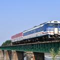 写真: 磐越西線普通列車 (キハ47)