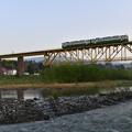 写真: 磐越西線普通列車 (キハ40)