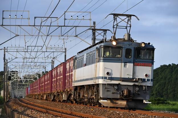 Photos: 貨物列車 (EF652084)