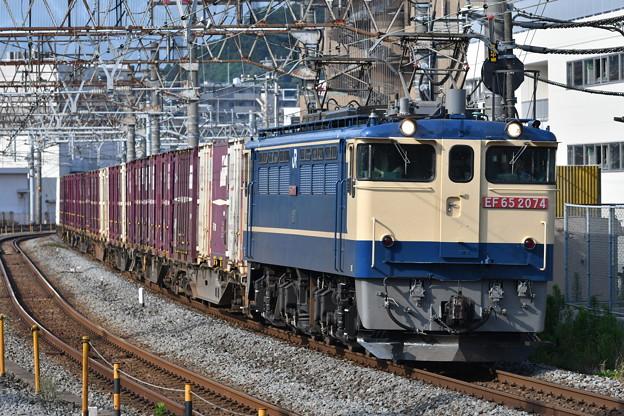 写真: 貨物列車 (EF652074)