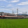 写真: 東武鬼怒川線 普通列車
