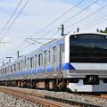 写真: 常磐線普通列車 (E531系)