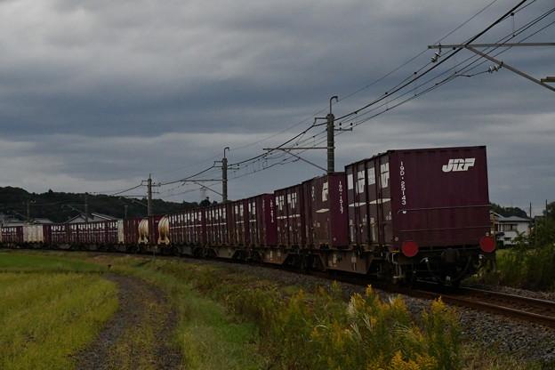 コンテナ貨物列車 (後ろ)