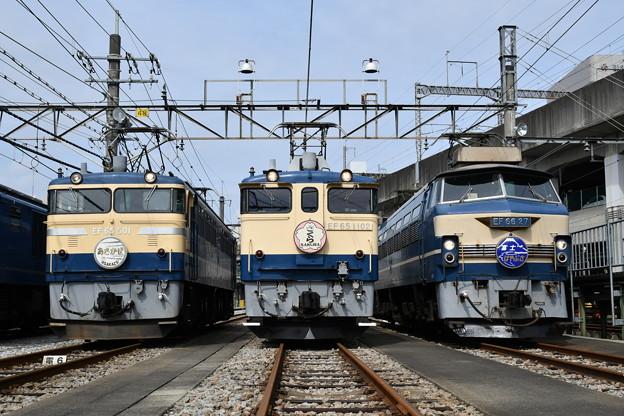 東海道線歴代ブルートレイン牽引機関車
