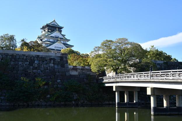 Photos: 極楽橋と大阪城