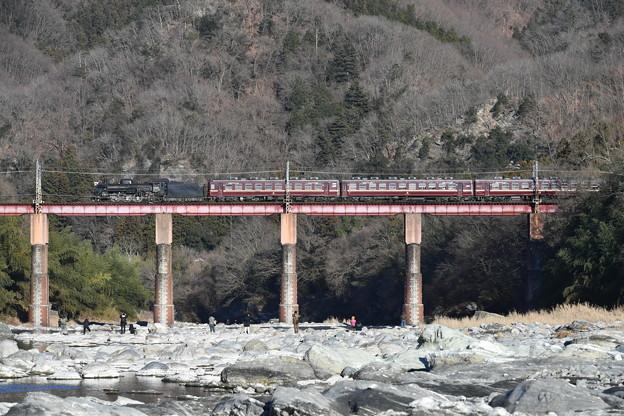 秩父鉄道 SLパレオエクスプレス 上り (C58363)