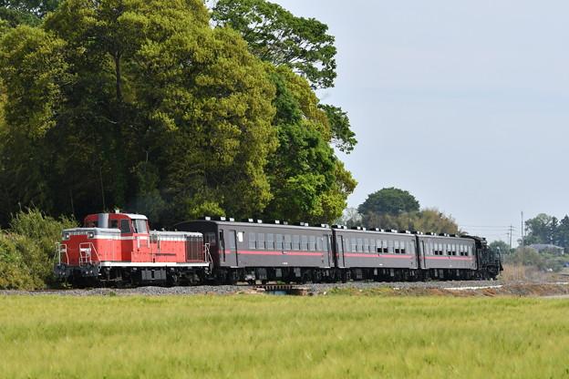 真岡鐵道 回送列車 (DE101535)