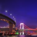 東京夜景 レインボーブリッジB