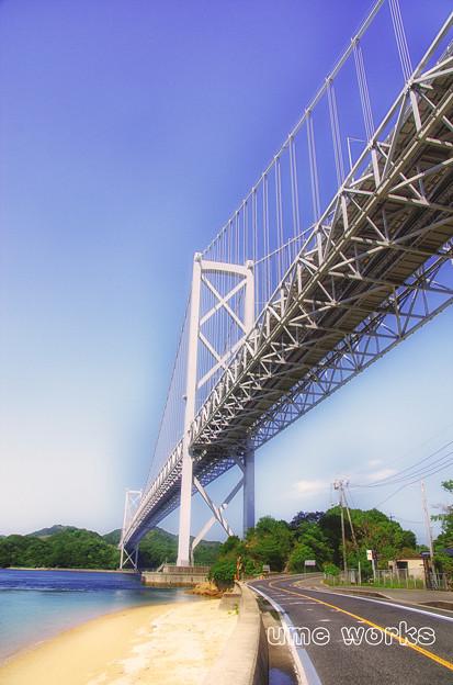 海を渡る橋