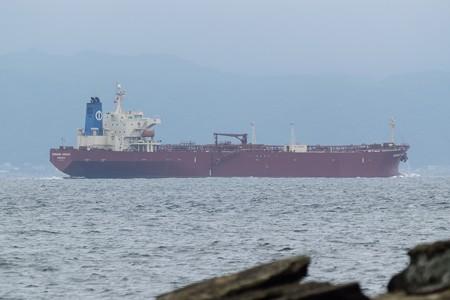 1)183m MORNING HARUKA(35mm換算540mm)南航船 金谷方面