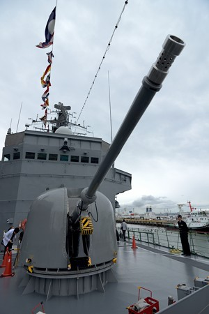 海上自衛隊 訓練支援艦 くろべ -4