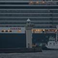 2016 クイーン・エリザベス 横浜入港 -13