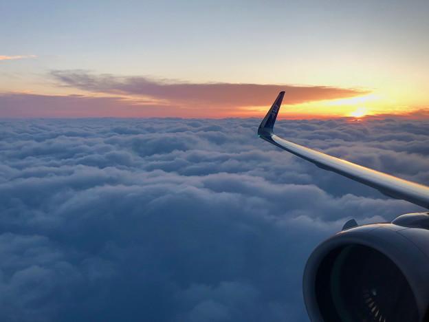 雲海に沈む