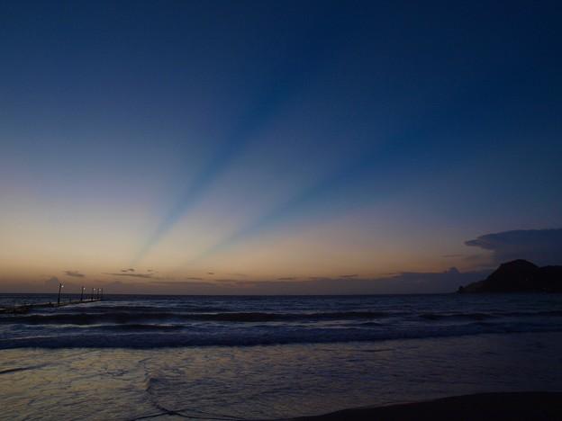 Photos: 青い光芒