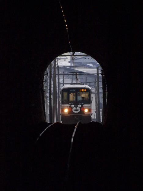 くまモン電車