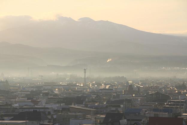 霞む朝景色-3
