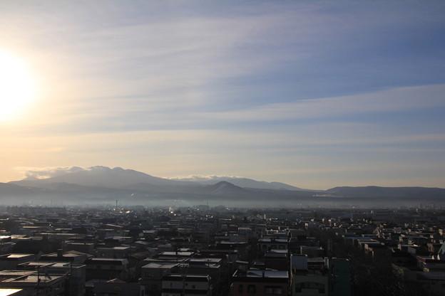 Photos: 朝陽差し込む