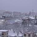 写真: 北側の雪景色01
