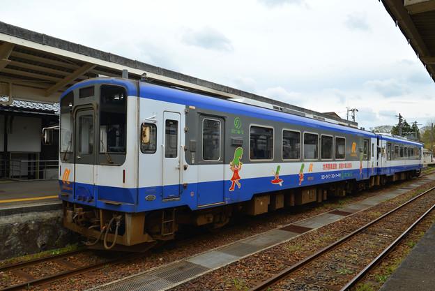 写真: のと鉄道(2)