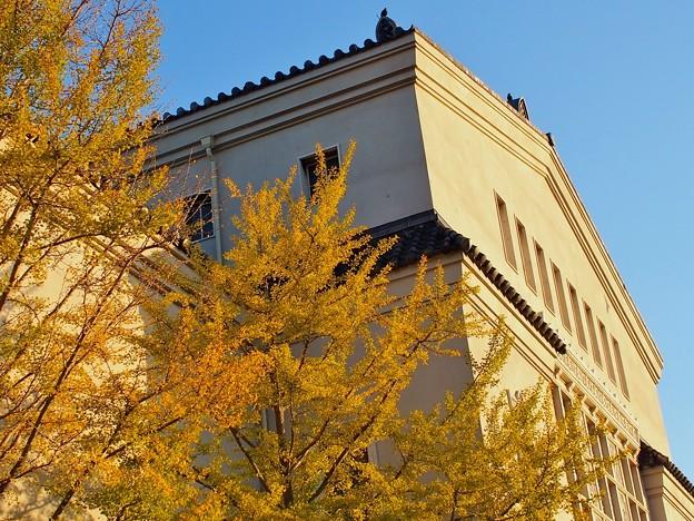 秋の美術館