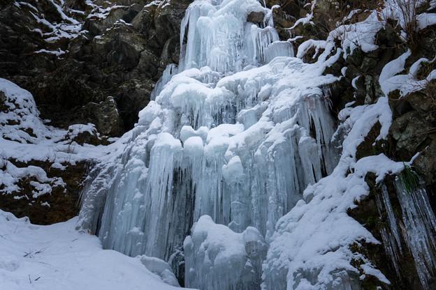 氷瀑の勇姿