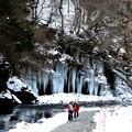 三十槌の自然の氷柱風景2