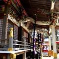 写真: 宝登山神社の横からの風景