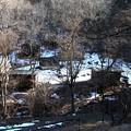 62両神 残雪風景