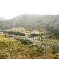 竹田城跡の上からの風景2