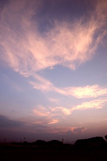 夕方の空(20180719)