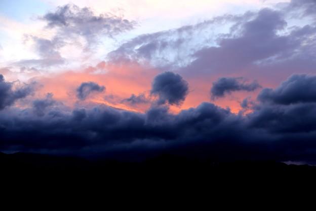 安曇野スイス村の夕焼け2
