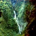 写真: 秋の弥名滝
