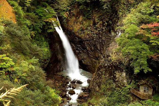 大田切渓谷不動の滝
