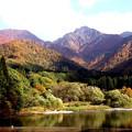 大源太ギャニオンの紅葉風景