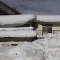 湯桧曽の積雪風景