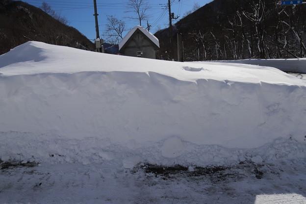 土合の雪景色