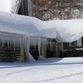 土合駅の氷柱風景