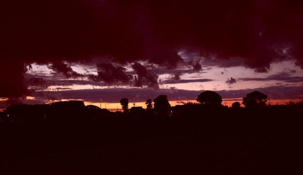 夕方の空風景2