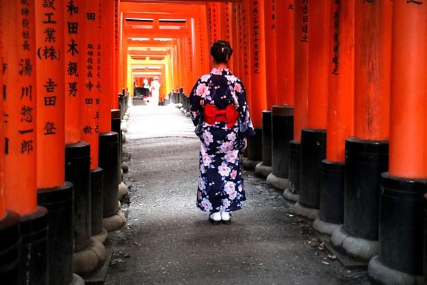 京都は和服が似合う (2)