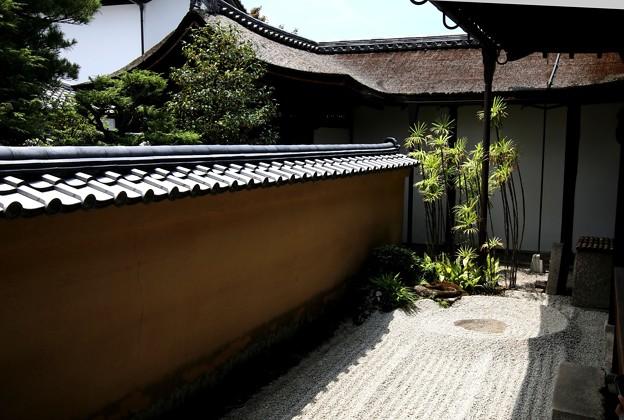 龍源院の中庭の石庭