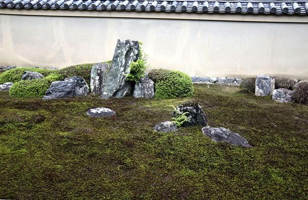 龍源院の龍吟庭 遥拝石1