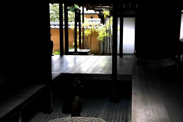 龍源院の方丈の屋敷内風景