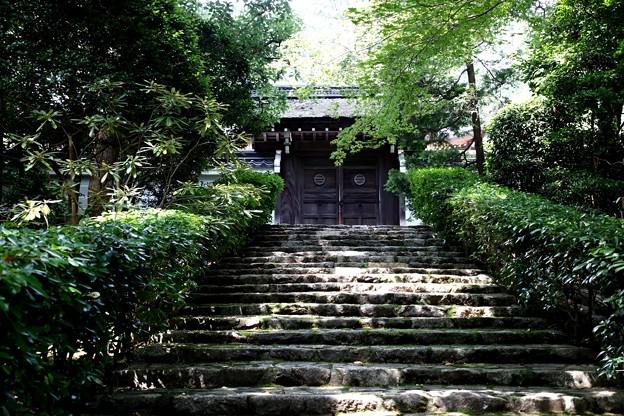 龍安寺の境内の寺院